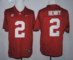 ... Mens Alabama Crimson Tide 2 Derrick Henry Red Playoff Diamond Quest  College Football Nike Jersey . 8f448d508