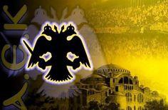 Aek Athens, Superhero Logos, Football, Spirit, Game, Soccer, Futbol, American Football, Venison