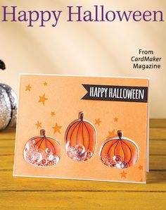 Happy Halloween from the Autumn 2016 issue of CardMaker Magazine. Order a digital copy here: https://www.anniescatalog.com/detail.html?prod_id=132520