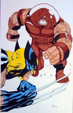 #Juggernaut #Fan #Art. (Wolverine VS Juggernaut) By:ESO2001. ÅWESOMENESS!!!™ ÅÅÅ+