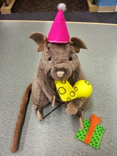 Library Village: Flannel Friday - Happy Birthday Mouse