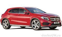 Компактный кроссовер Мерседес GLA 2014 / Mercedes GLA 2014