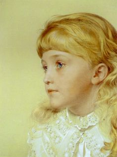 Portrait of May Gillilan - Anthony Frederick Sandys (1829-1904)