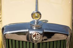 MG Vintage car rally at Brooklands museum  - #VintageCars #Transport #MG #ClassicCars