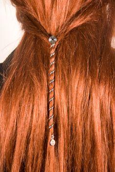 Hair Twister Silver 6 Inch | Hair Twisters