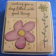 NEW Hero Arts 'Good Things Fancy Notes' Stamp Set #HeroArts Flower Stamp, Flower Quotes, Mothers Day Crafts, Hero Arts, Easter Crafts, Home Crafts, March, Notes, Good Things