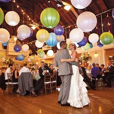 "Brides.com: A Handmade Fall Wedding in New Jersey. The couple performed their first dance to ""Stay With You"" by John Legend. Music was provided by Bud Maltin Metropolitan Music. Later in the evening, the bride shared a dance with several of her father's classmates from West Point—a tradition she loves. ""I'll never forget that dance—it was so touching,"" she says. Nancy Saam Flowers"