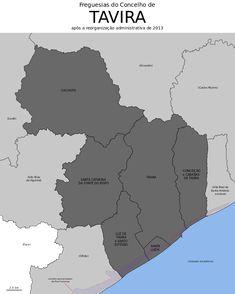 Freguesias do concelho de Tavira