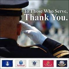 I wish I had the word for the gratitude I have for the service and sacrifices you make for all of us!