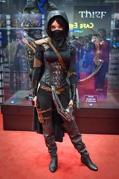Female Garrett cosplay