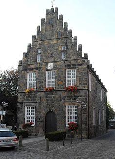 Historisches Rathaus von Schüttorf, Landkreis Grafschaft Bentheim