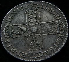 1688 - James II (reverse)