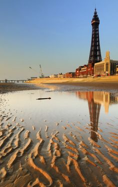Blackpool Tower... (Home to attractions such as the Tower Dungeons, the Tower Ballroom and the Tower Circus!)