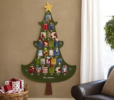 Pottery Barn Kids - Christmas tree advent/countdown