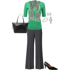 Plus Size Work Outfit by jmc6115 on Polyvore featuring Doublju, Kay Unger New York, Michael Kors, Anne Klein, WorkWear and plussize