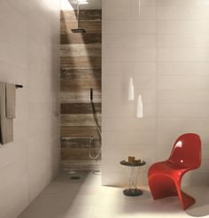Wood Tile Bathroom | In our showroom you will find:-