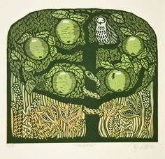 Buy Paradise, 2 plate linocut, Linocut by Mariann Johansen-Ellis on Artfinder. Discover thousands of other original paintings, prints, sculptures and photography from independent artists.