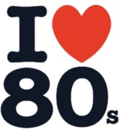 Absolutely love the 80's!!! :D♥