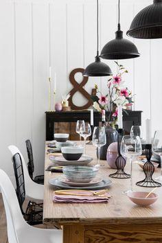 Rustic Scandi Dining Room Design Inspiration