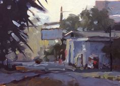The Market 5x7 oil on linen David Boyd