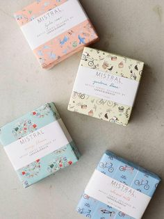 Mistral Luxury Soap #packaging