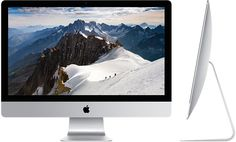 (OCTOBER 2015 UPDATE) iMac with Retina 5K display - 27-inch Retina display. 3.2 or 3.3 quad-core Intel Core i5 processor, Turbo Boost up to 3.9GHz, 8GB memory, 1 or 2 TB Fusion Drive, AMD Radeon R9 M395 with 2GB video memory & Retina 5K 5120-by-2880 P3 display).