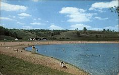 Salt Fork Lake State Park Beach. Spent a lot of time here in my early years.
