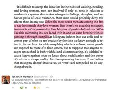 """excerpt from """"The Gender Knot"""" #feminism #books #feministbooks"""