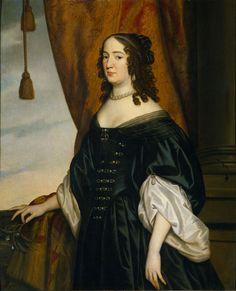 Amalia van Solms (1602-75), Wife of Prince Frederik Hendrik - Gerrit van Honthorst - 1650