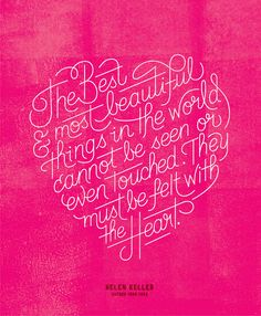 The best and most beautiful things in the world ...