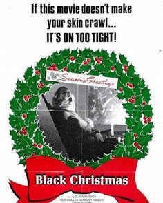 Time for another #ChristmasHorror movie! The original #BlackChristmas - never saw this one before!  #HorrorMovie #Horror  'Twas a week before #Christmas and was dark in the house. It's #HorrorMovies we're playing! Stop stabbing your spouse!