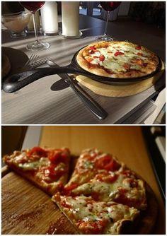 szybka pizza z patelni minut robienia i tyle samo s… A Love So Beautiful, Vegetable Pizza, Vegetables, Cooking, Breakfast, Recipes, Food, Bądź Fit, Necklaces