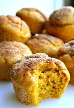 Pumpkin Donut Muffins from Rachel  ☀CQ #recipes