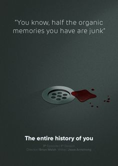 The Entire History of You Complete project with animation to the link. Minimal Movie Posters, Minimal Poster, Netflix Quotes, Movie Quotes, Creative Posters, Cool Posters, Film Posters, Cartoon Network, Animated Movie Posters
