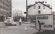 Llanoponte, años 60, Avilés