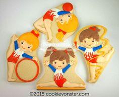 Gymnastics Cookies