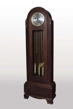 Edwardian grandfather clock.
