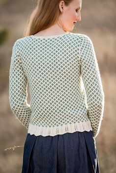 Ravelry: Lovebird Sweater pattern by Donna Kay