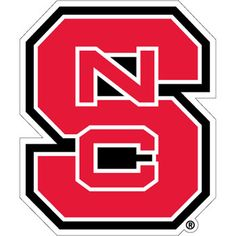 NC State Red Block S Vinyl Decal