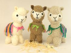 Alpaca Amigurumi Patron Gratis : Crochet free pattern amigurumi alpaca stuffed toy haken