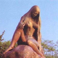 Lorelei statue in Germany