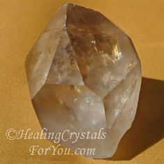 Learn how Smokey Quartz Crystals will protect and ground you and anchor you to Mother Gaia. Provides psychic protection, protects you from negativity and transmutes energy. Helpful for spiritual workers such as clairvoyants and psychics.