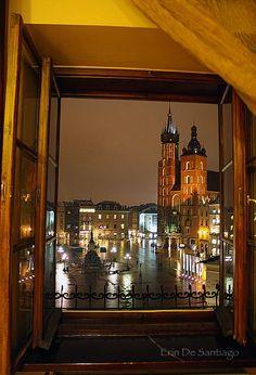 Hotel Wentzl in Krakow, Poland http://nocheckedbags.com/2013/08/frifotos-room-with-view/