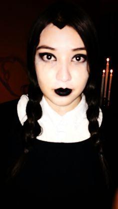 Disfraz Merlina Addams, Halloween 2015