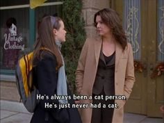"""""""Kirk's always been a cat person. He's just never had a cat."""""""