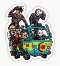 The Massacre Machine Horror Stickers Tumblr Stickers, Funny Stickers, Laptop Stickers, Horror Villains, Halloween Stickers, Sticker Design, Decals, Cool Stuff, Drawings