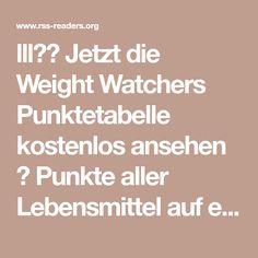 lll✚➤ Jetzt die Weight Watchers Punktetabelle kostenlos ansehen ✅ Punkte aller Lebensmittel auf einen Blick ✚ Tipps zum Abnehmen mit Weight Watchers ✅