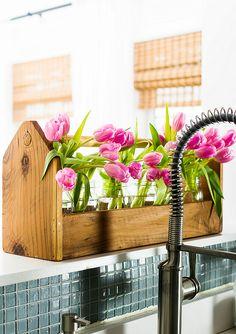 Spring decorating ideas with pink. Decorating your home for Spring. Kitchen decorating ideas for Spring. Pink and blue decorating ideas. Pink Wreath, Hydrangea Wreath, Pink Hydrangea, Initial Door Wreaths, Monogram Wreath, Decorating Your Home, Decorating Ideas, Burlap Ribbon, Geraniums