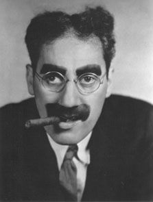 Groucho Marx  AKA Julius Henry Marx  Born: 2-Oct-1890  Birthplace: New York City  Died: 19-Aug-1977  Location of death: Los Angeles, CA  Cause of death: Pneumonia  Remains: Cremated, Eden Memorial Park, San Fernando, CA