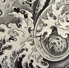 Image result for japanese bodysuit tattoo illustration
